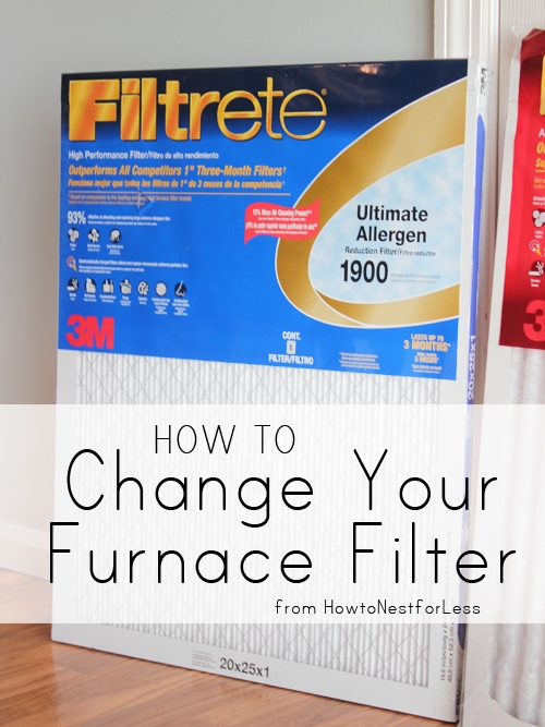 Changing your Furnace Filter