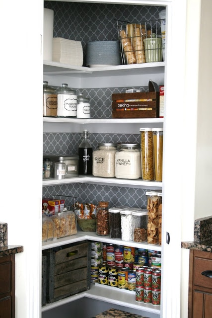 Get inspired 10 amazing pantry makeovers how to nest for less - Kitchen organization ideas small spaces paint ...