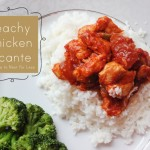 peachy chicken picante