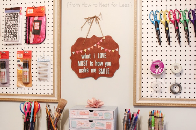 stained bunting sign tutorial