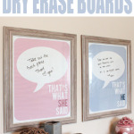 Master Bedroom Dry Erase Posters