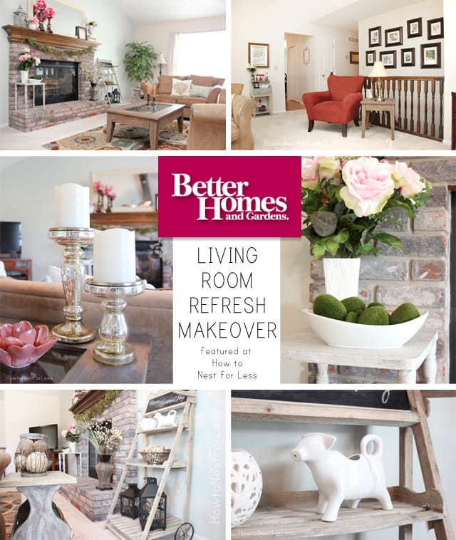BHG living room refresh makeover