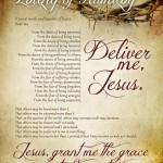 Litany of Humility Free Printable