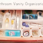 bathroom vanity drawer organization