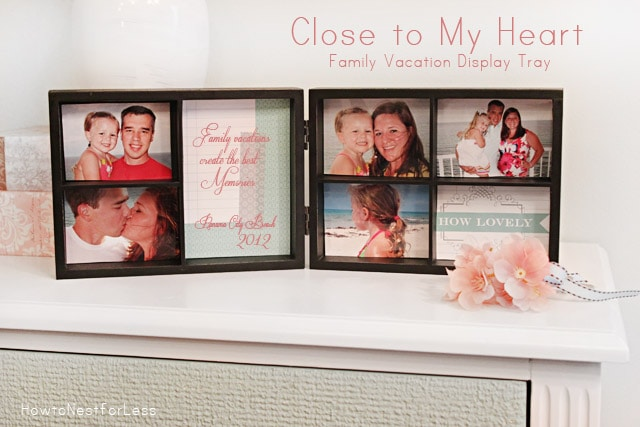 close to my heart display tray