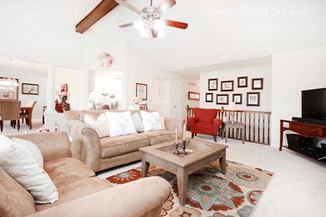 better homes and gardens living rooms. Living Room Refresh  Better Homes Gardens Challenge How to Nest for Less