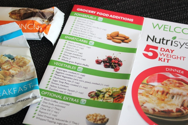 5-Day Nutrisystem Jumpstart™ Your Weight Loss Kit Available at Walmart