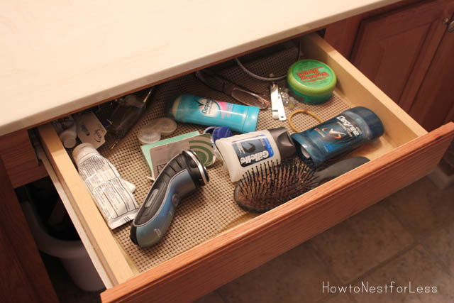 Bathroom Vanity Organization bathroom vanity organization - how to nest for less™