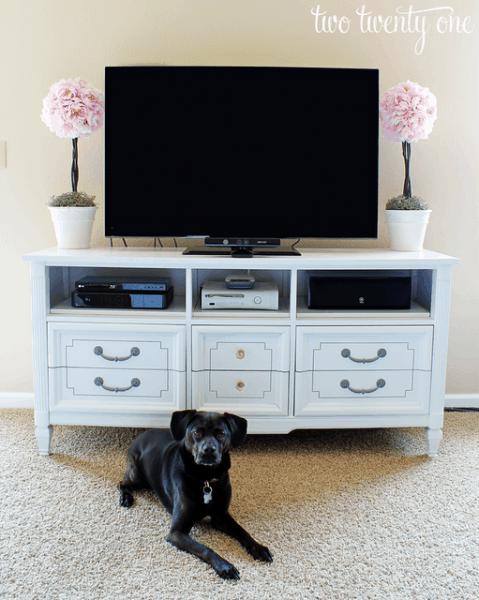 dresser+tv+stand