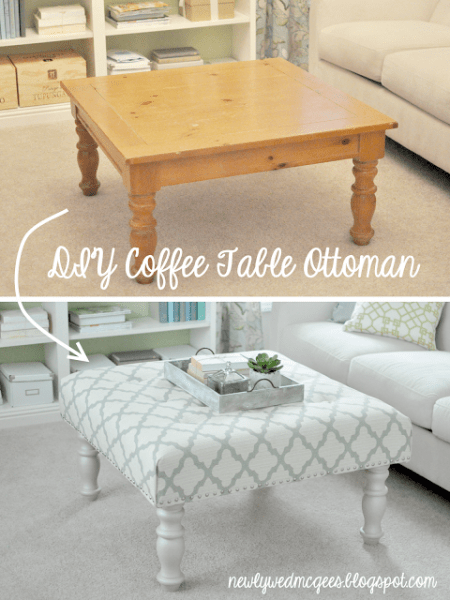 table to ottoman