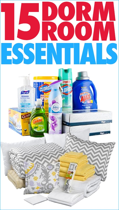 Get Inspired: 15 Dorm Room Essentials - How to Nest for Less™