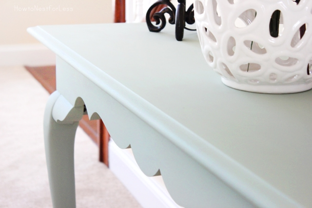 ASCP console table