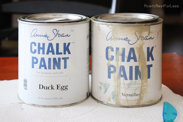 annie sloan chalk paint mixing colors