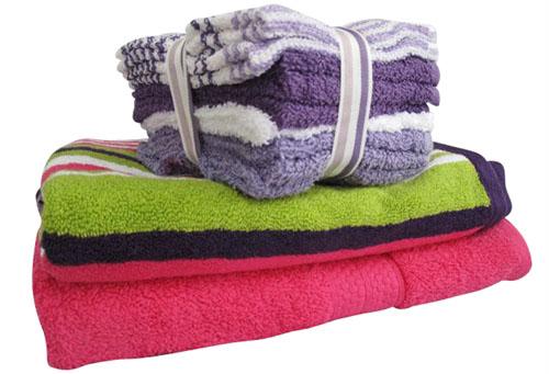 Inspirational college dorm towel sets
