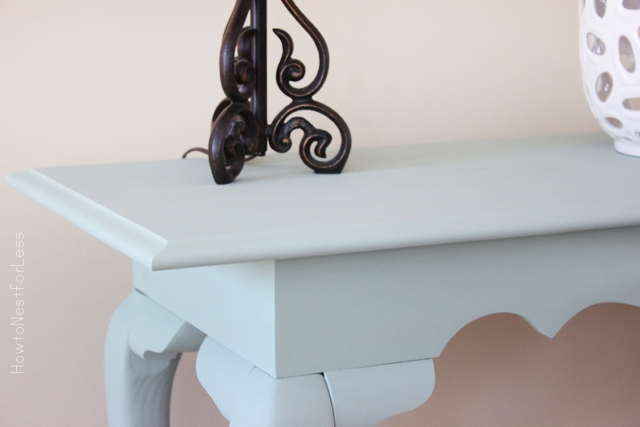 console table makeover ASCP