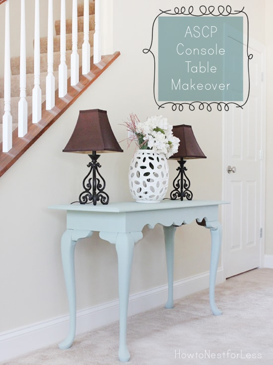 Ascp Console Table Makeover How To Nest For Less