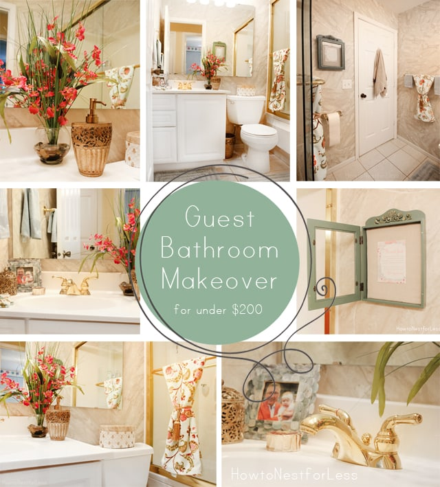 Guest Bathroom Makeover - How to Nest for Less™
