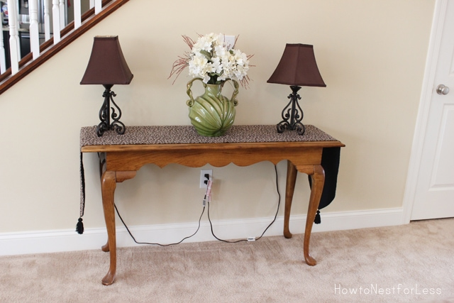 old console table