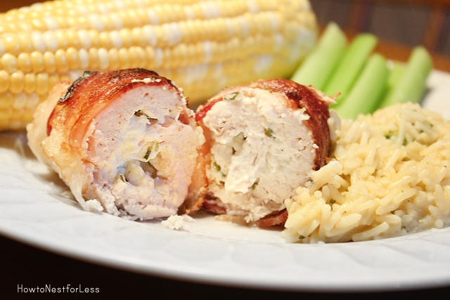 stuffed bacon wrapped chicken