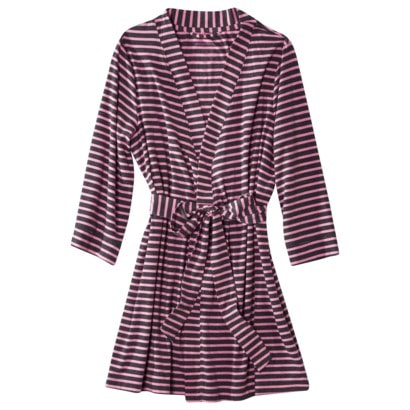 target striped bathroom robe
