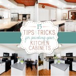 tips and tricks for painting kitchen cabinets