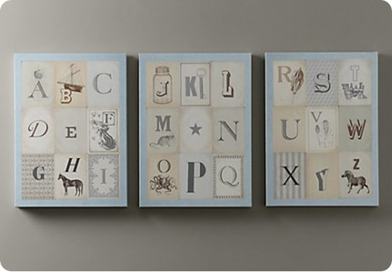 Vintage-Alphabet-Art-Set-of-3