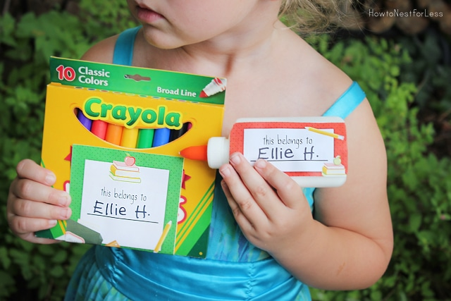back to school free labels