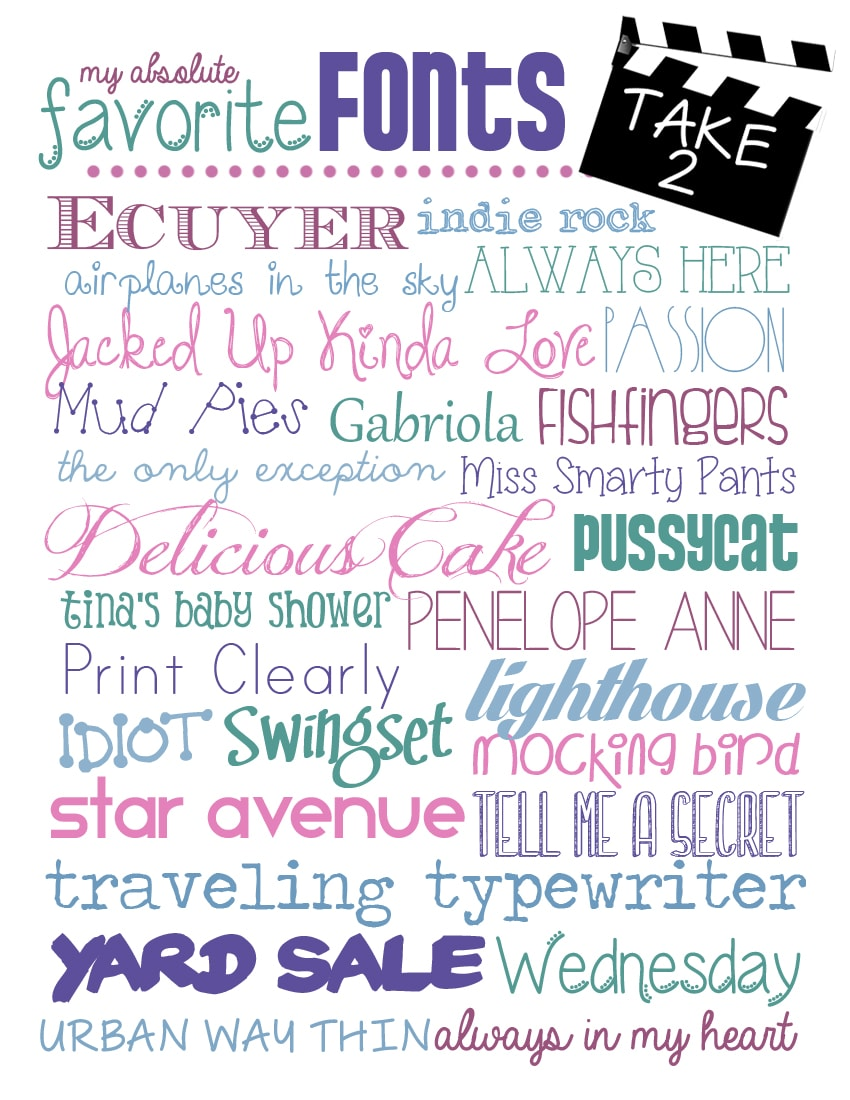 favorite fonts free download