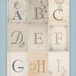 Nursery Alphabet Wall Art {free printables}