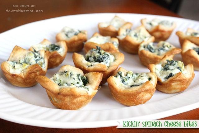 Kickin' Spinach Cheese Bites recipe