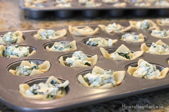 What's Cooking: Kickin' Spinach Cheese Bites - How to Nest for Less™