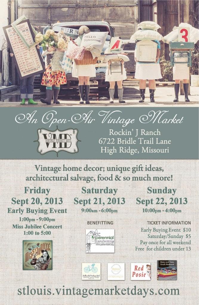 STL Vintage Market Days Ticket GIVEAWAY!