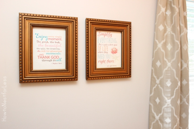 guest bedroom printables