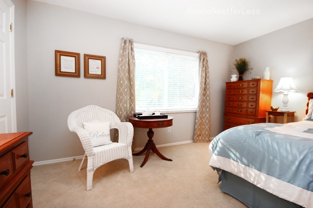 stenciled-curtains-for-bedroom