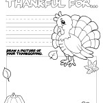 Thanksgiving Coloring Book {free printable}