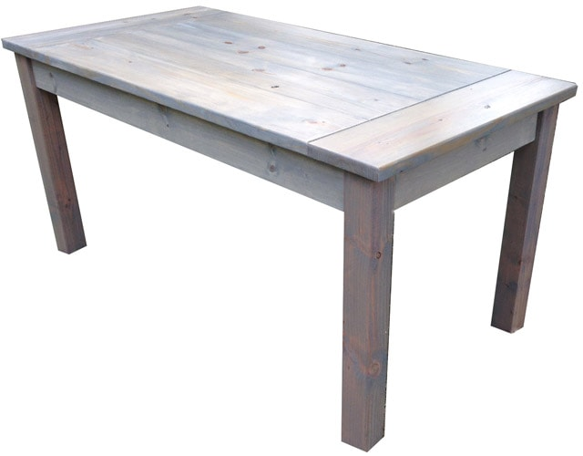 Farmhouse style dining table for Html table style