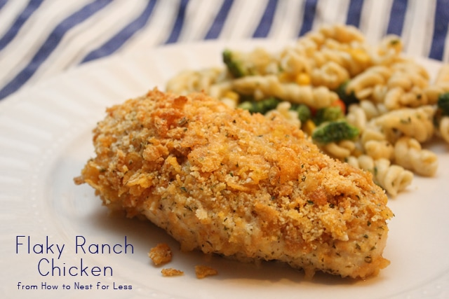 flaky ranch chicken