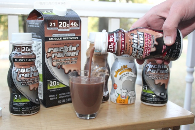 rockin refuel chocolate milk