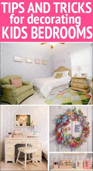 tips and tricks for decorating kids bedrooms