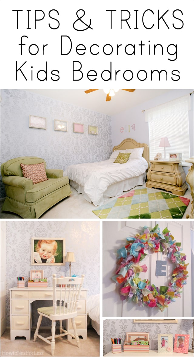 tips for decorating kids bedrooms how to nest for less