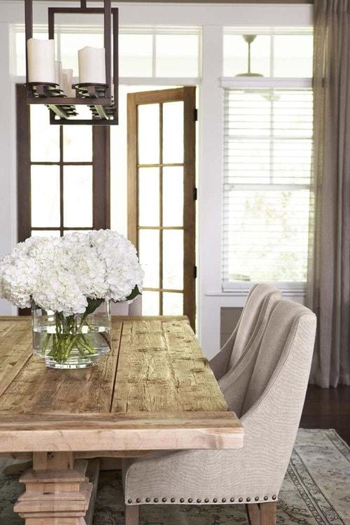 Dining Room + Farmhouse Tables