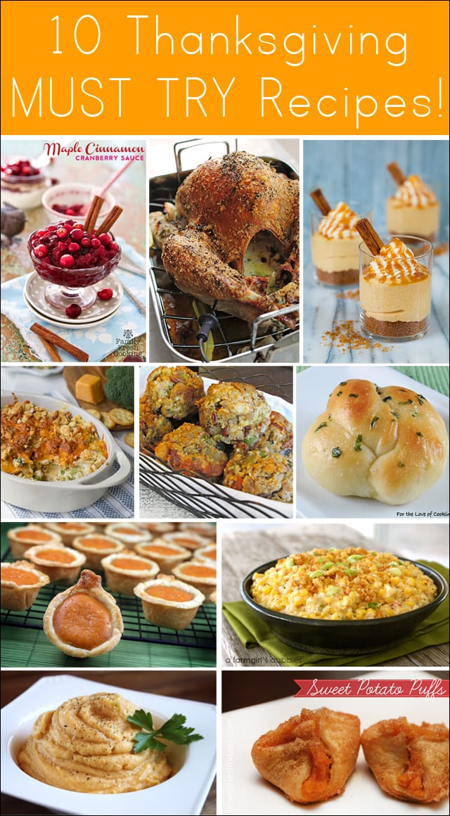 10 Amazing Thanksgiving Recipes