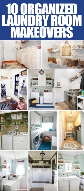 Get inspired 10 laundry room makeovers how to nest for less - Small space makeovers ideas ...