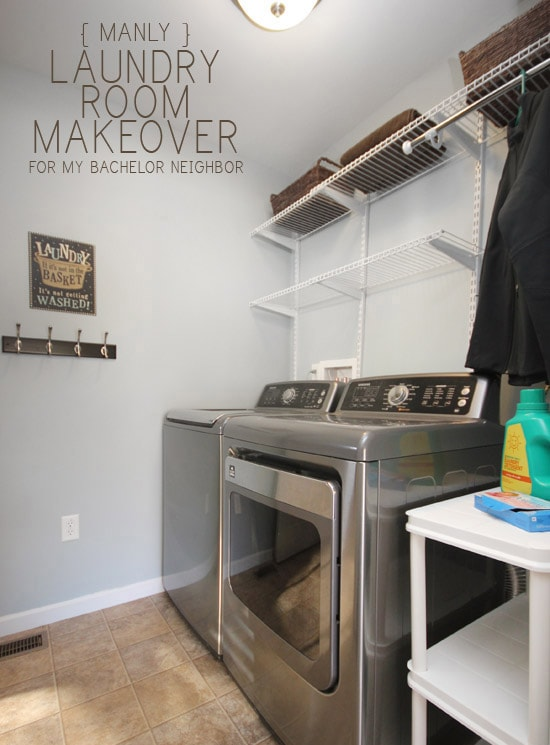 Neighbor Laundry Room Makeover