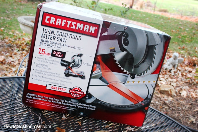 craftsman 10 in compound miter saw