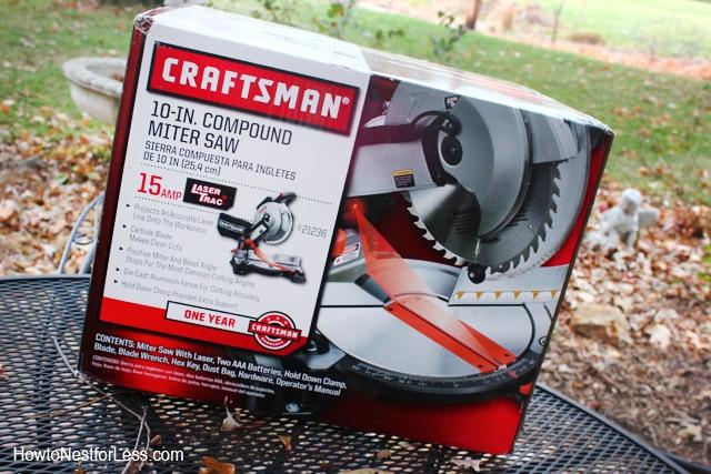 craftsman 10 in compound miter saw