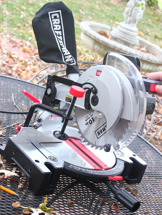 craftsman compound miter saw