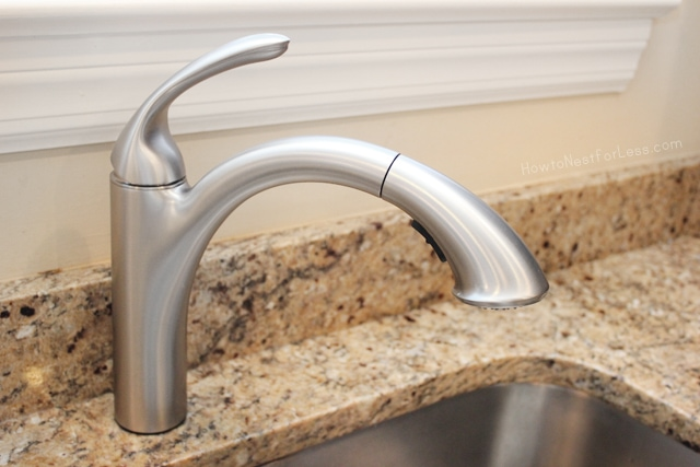 Cominstall Kitchen Faucet : How to Install a Kitchen Faucet - How to Nest for Less™