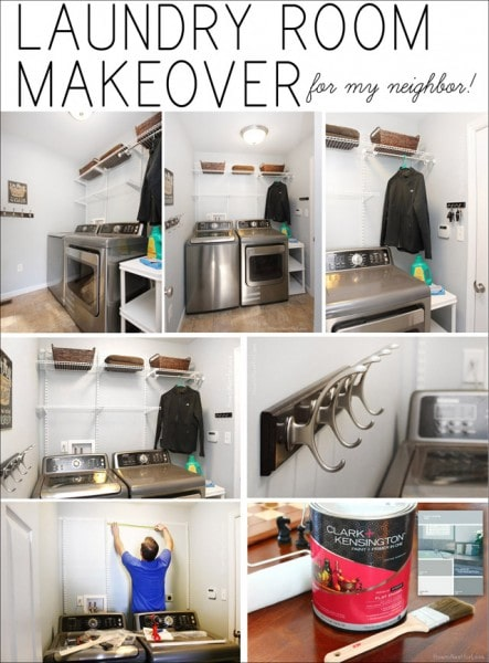 manly laundry room makeover