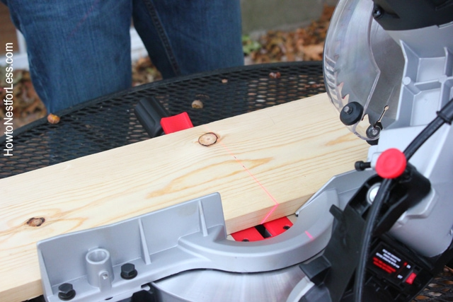 miter saw table trough project